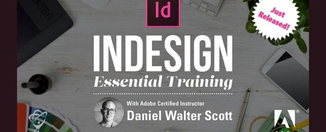 InDesign CC Essentials Just Released