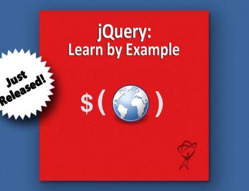 Now Available! 'jQuery: Learn by Example' training course