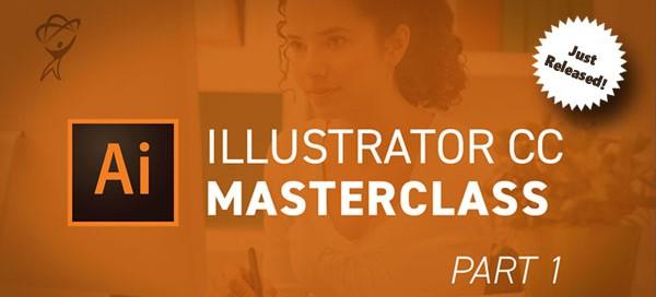 Illustrator CC Masterclass Part 1 Just Released