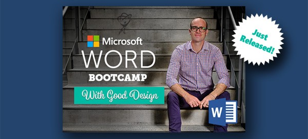 Word 2016 Bootcamp Just Relased
