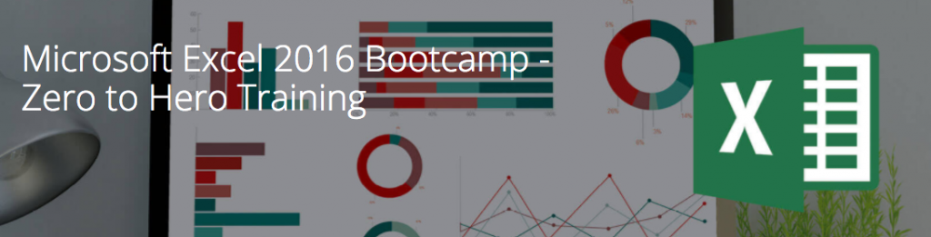 Excel 2016 Bootcamp