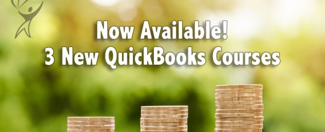 Now Available 3 New QuickBooks Courses