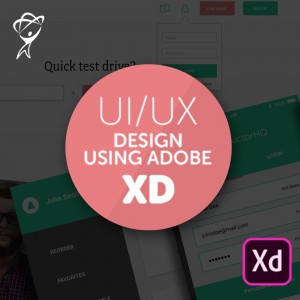 UI/UX & Web Design Using Adobe XD