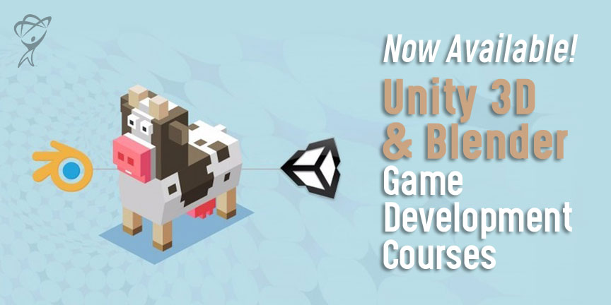 Unity Blender Game Development courses available