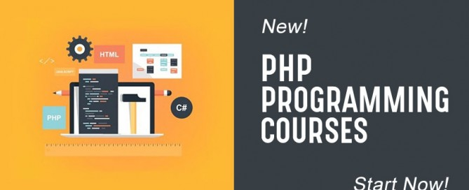 PHP Programming courses available