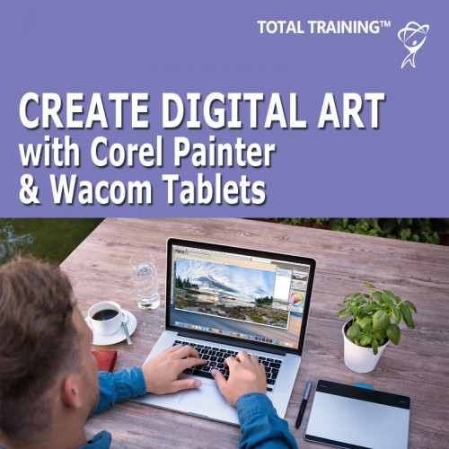 Corel Painter & Wacom Tablets - Create Digital Art