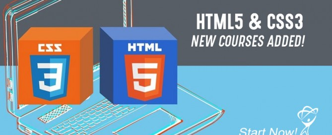 HTML5 & CSS3 New Courses Added