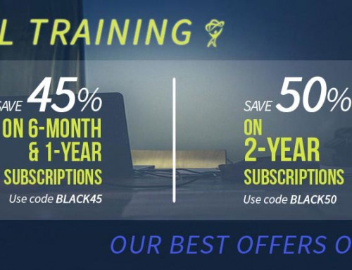 Total Training Cyber Week Deals Announced