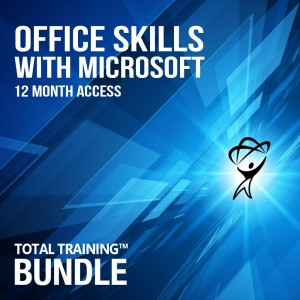 Office Skills with Microsoft 12 month bundle