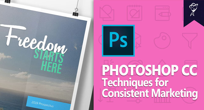 Adobe Photoshop CC Consistent Marketing Techniques