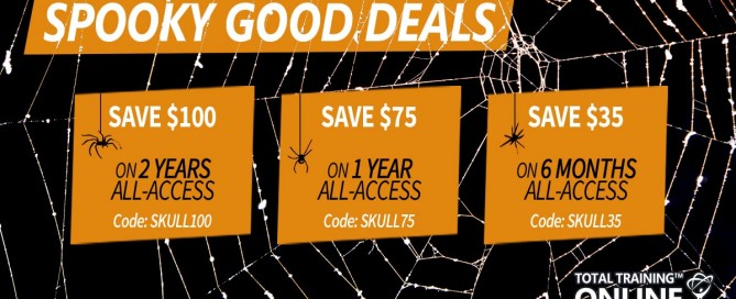 Total Training Halloween Sale 2020