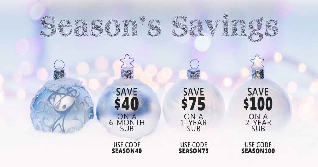 Season's Savings. Save up to $100 on eLearning!