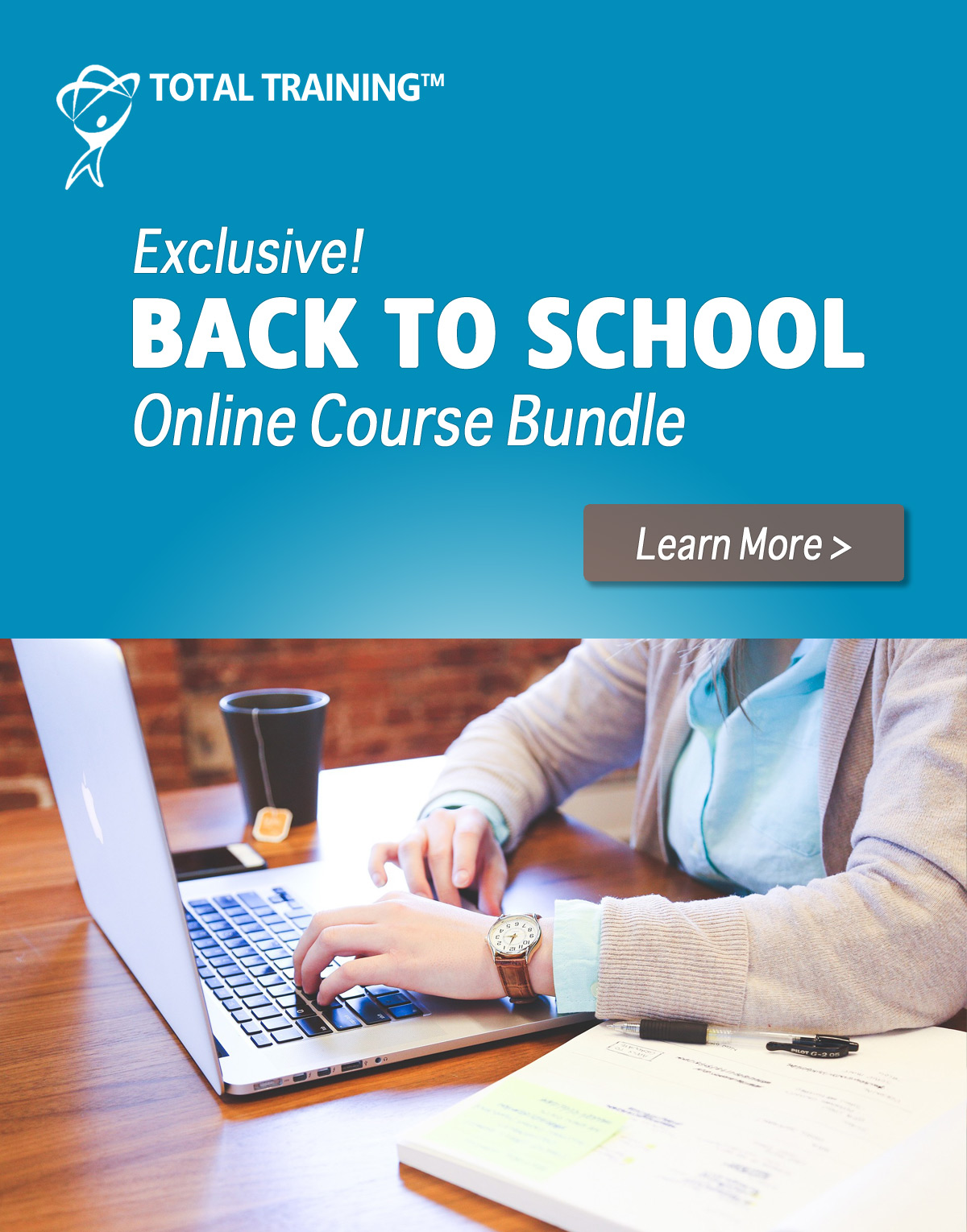 Back to School bundle from Total Training