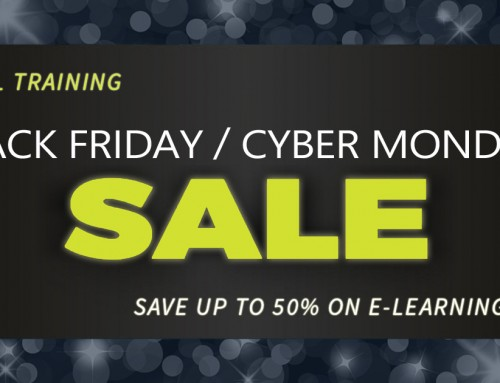 Cyber Monday Sale! Save up to 50% on E-Learning at Total Training