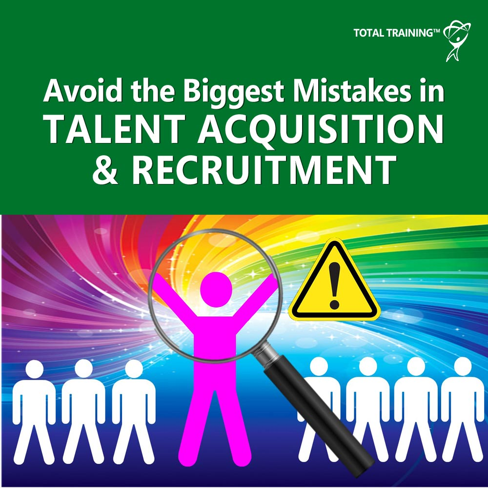 Avoid the Biggest Mistakes in Talent Acquisition and Recruitment online course image