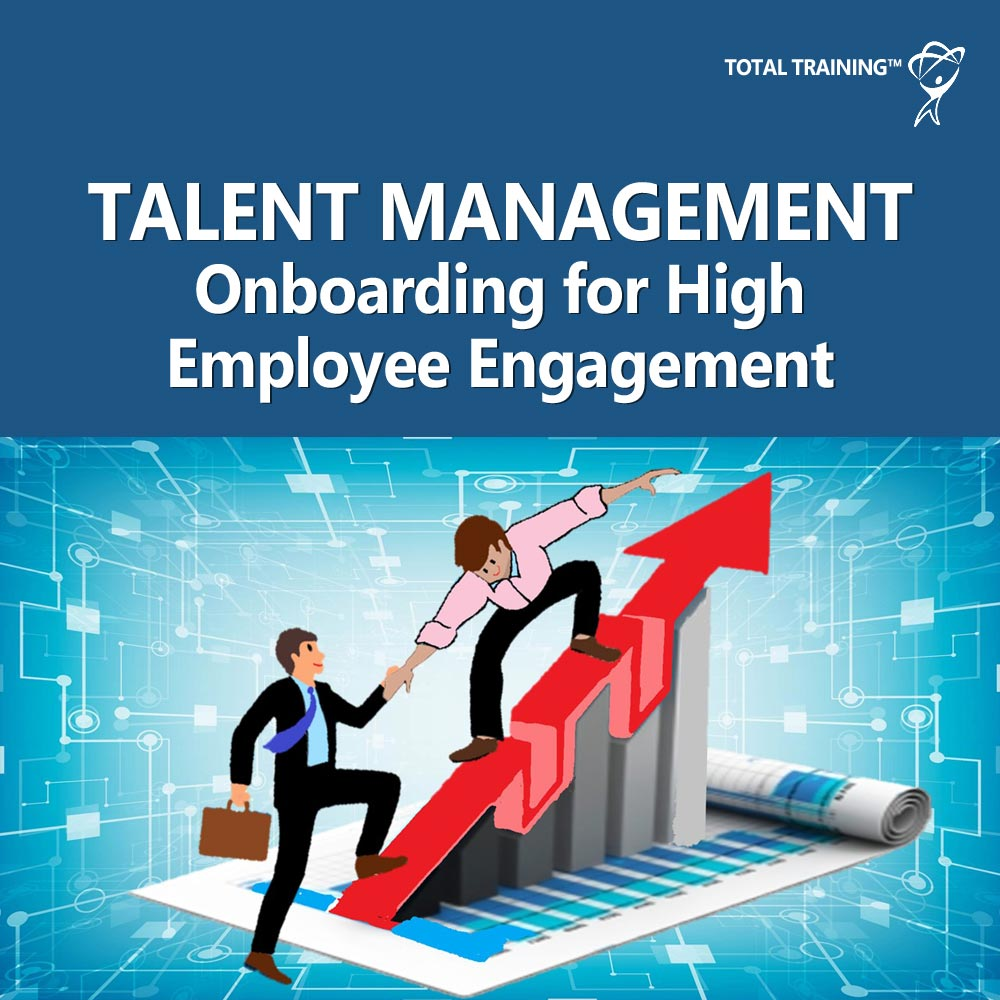 Talent Management - Onboarding for High Employee Engagement online course image