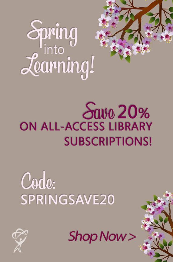 Save 20% on All-Access Library Subscriptions at totaltraining.com/subscriptions