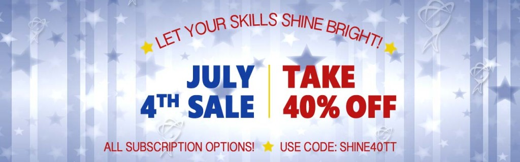 Save 40% on elearning courses now at https://totaltraining.com/subscriptions with code SHINE40TT